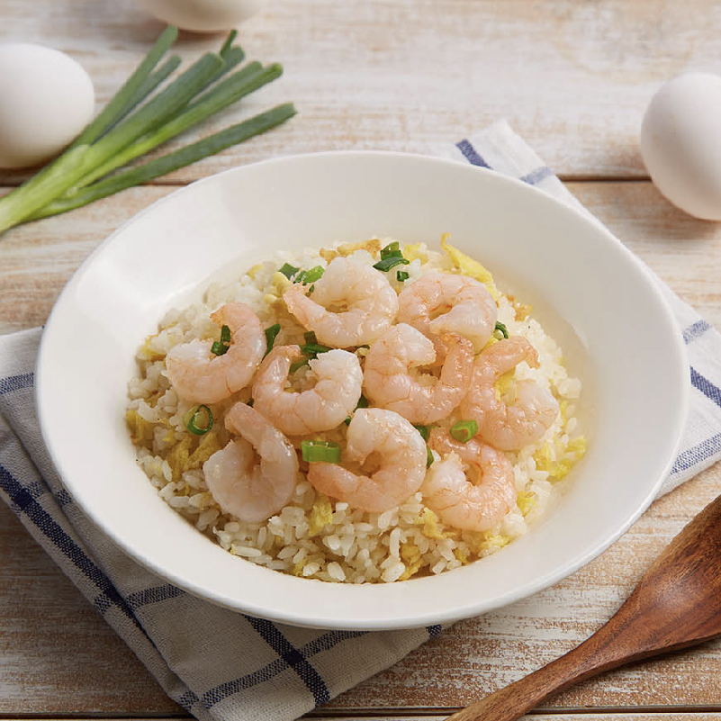 Shrimp Fried Rice With Egg